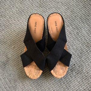 Nine West Shoes - Nine West Wedges Platform Shoe size 8